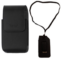 Around the neck Magnetic hanging case and lanyard fits Alcatel Go Flip - $19.99