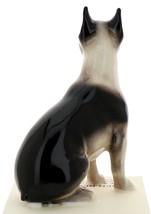 Hagen-Renaker Miniature Ceramic Dog Figurine Boston Terrier Pedigree Sitting image 3
