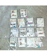 Lot of 14 Laura Janelle Charm Necklaces Charm Bracelet NOS Carded 5 & 6 ... - $49.99