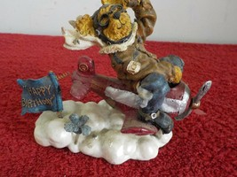 """2000 Boyds Bears """"Ace Armstrong...Flying High"""" Bear on Plane Happy Birth... - $2.99"""