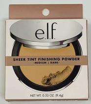 Elf Beautifully Bare Sheer Tint Finishing Powder #95033 Medium Dark New - $9.00
