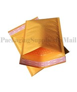 """PolyAir"" Self-Seal Kraft Bubble Mailer Padded Shipping Supplies Packagi... - $27.39"