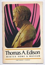 Thomas Edison Winter Home & Museum Guidebook Fort Myers Florida - $51.43