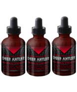 3 Absonutrix Deer Antler Maximum strength 2 Fl Oz helps increase endurance - $39.99