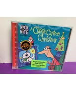 Nick at Nite A Classic Cartoon Christmas CD Rudolph Frosty Grinch Muppet... - $18.59