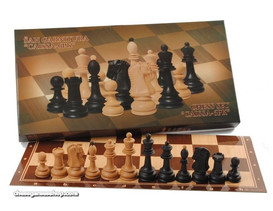 Dubrovnik easy 4pk combo chess set contemporary chess - Simple chess set ...