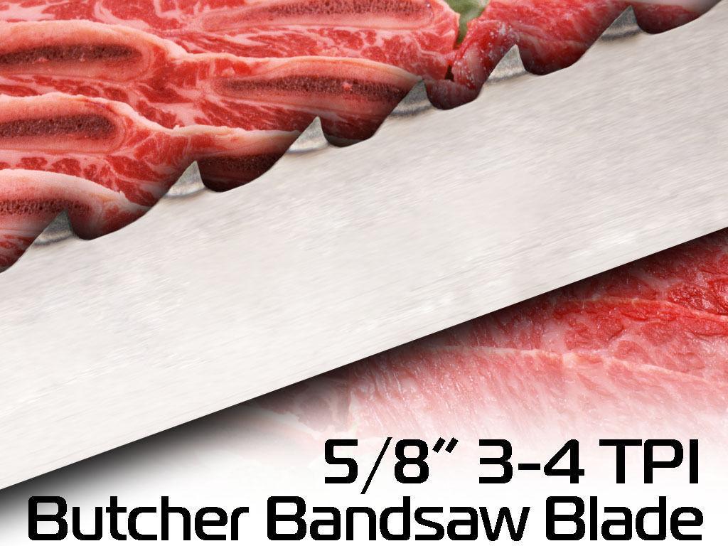 "1/"" X 3-4 TPI X 64 1//2/"" Butcher Blade BandSaw Blade Laguna Tools Meat blade"