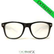 EXTREME Double Diffraction Glasses – Black Rave Prism Refractor Defraction EDM - $21.99