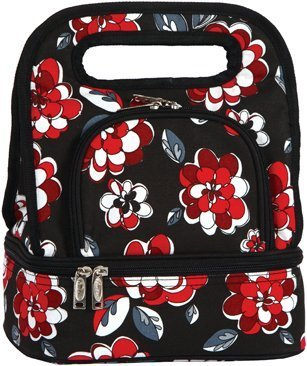 Floral Savoy Insulated Vinyl-Free Lunch Bag