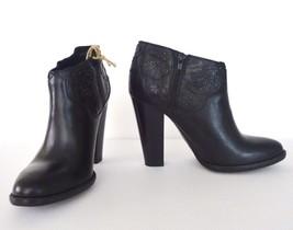 NIB Diesel  Girl on Tex Guadalupy Ankle Bootie Boots Heels  Sz 7.5 Black $295 - $148.45
