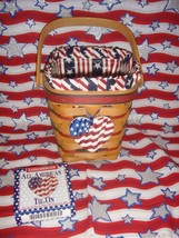 Longaberger 1995 All American Carry Along Basket - $27.99