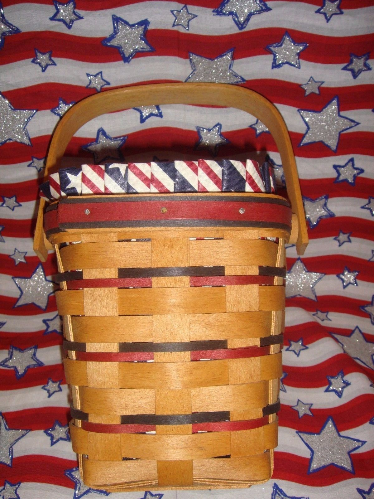 Longaberger 1995 All American Carry Along Basket