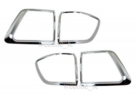 CHROME TAIL LIGHT COVER TRIM FOR TOYOTA FORTUNER 2009 2010 2011 - $50.52
