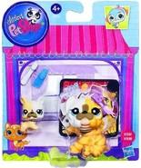 Littlest Pet Shop Figures Bulldog & Baby Bulldog - $139.97
