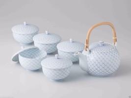 [Premium] Hasami Porcelain : KORIN - Kyusu tea pot & 5 Yunomi tea cups S... - $589.20