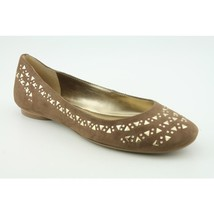 New Nine West Shoes Lianna Brown Studded Suede Flats Ballet sz 5.5 - $26.00