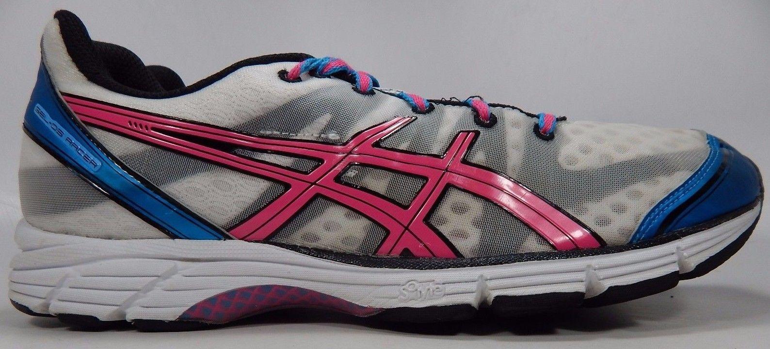Asics Gel DS Racer 9 Women's Running Shoes Sz US 10.5 M (B) EU 42.5 White T266N