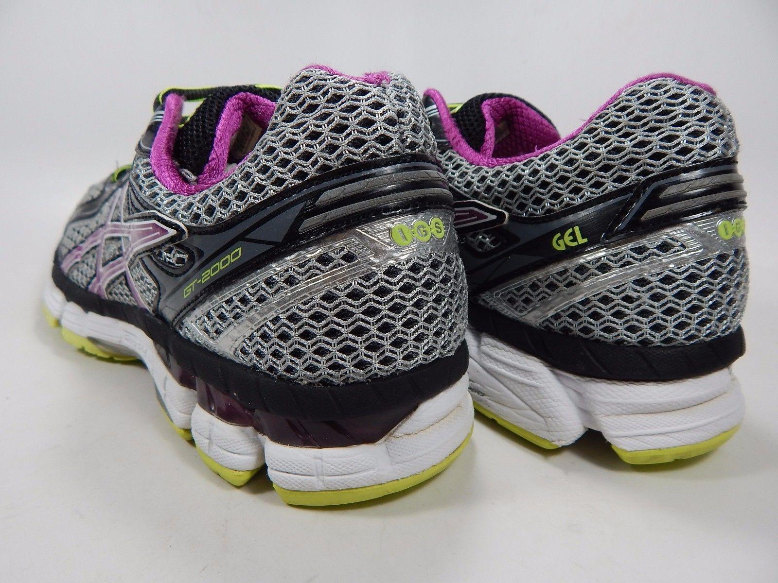 Asics GT 2000 v 2 Women's Running Shoes Sz US 10.5 M (B) EU 42.5 Silver T3P8N