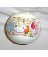 "Royal Doulton Bunnykins Round Bank ""Bunnykins Honor Mom 1988 - $19.99"