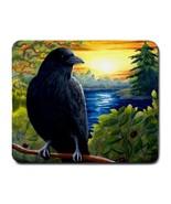 Mousepad from original art painting Bird 63 Cro... - $12.99