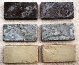"""Thick Travertine Patio or Driveway Paver Molds (6 - 6x12x2"""") Make 100s of Pavers image 3"""