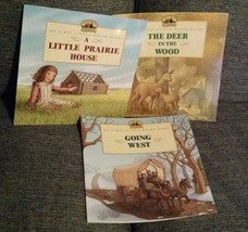 Lot of 3 MY FIRST LITTLE HOUSE Books Laura Ingalls Wilder - $24.99