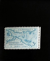 1949 3c Annapolis Tercentenary, Maryland Scott 984 Mint F/VF NH - $0.99