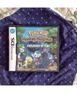 Nintendo DS: Pokemon Mystery Dungeon Explorers Of Time 2009 - $19.80
