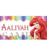 Ariel Sticker, The Little Mermaid Sticker, Personalized and Waterproof L... - $1.42