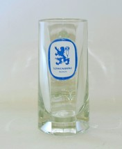 Vintage Lowenbrau Munich Beer Mug heavy Glass - $6.93