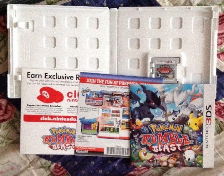 Nintendo DS: Pokemon Rumble Blast 2011