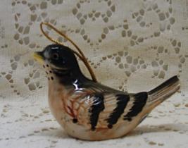 Vintage I RICE Porcelain Bird // Hanging Satchet // Pomander - $12.50