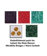 Embellishment Pack Leilani Hula Dancer Mirabili... - $12.00