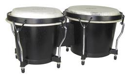"Tycoon Bongo Drums/Ritmo Series/Black Finish/6"" and 7"" Shells  - $59.00"