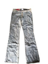Vintage 80's GUESS USA Women Denim Jean y2313181 Mod Retro Sz 26 Embroid... - $32.18