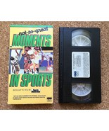 Not So Great MOMENTS IN SPORTS VHS Tape • 1985 Sports Illustrated HBO Video - $8.86