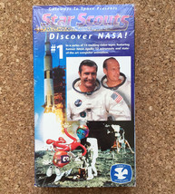 STAR SCOUTS Discover NASA #1 VHS Video Tape • 1995 Family Approved - $8.86