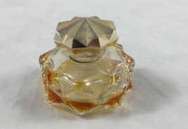 Avon Brocade Perfume Bottle Vintage Micro Mini Empty Women Star Shape - $5.93