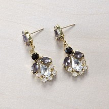 Sparkle Stone Dangling Crystal Angel Rhinestone Post Earring