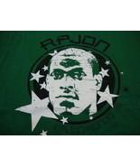 NBA Boston Celtics Rajon Rondo #9 Basketball Fan UNK Apparel Green T Shi... - $19.64