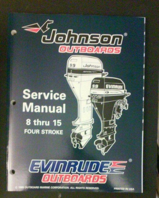Omc Johnson Evinrude Outboard Motor 1996 Service Manual