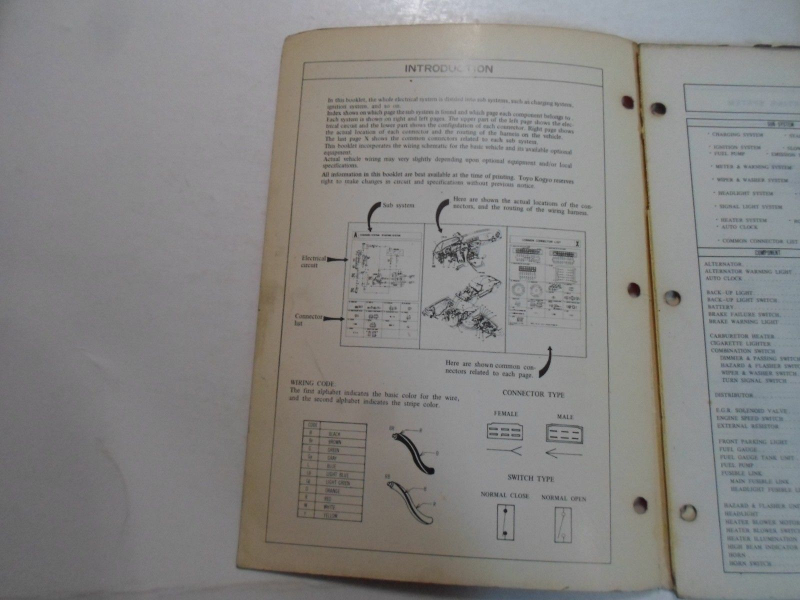 Mazda B2000 Alternator Wiring Diagram