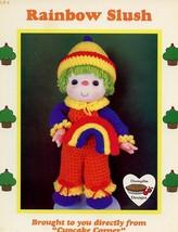 Rainbow Slush Doll  Dumplin Designs Crochet PATTERN/INSTRUCTIONS Leaflet - $3.57