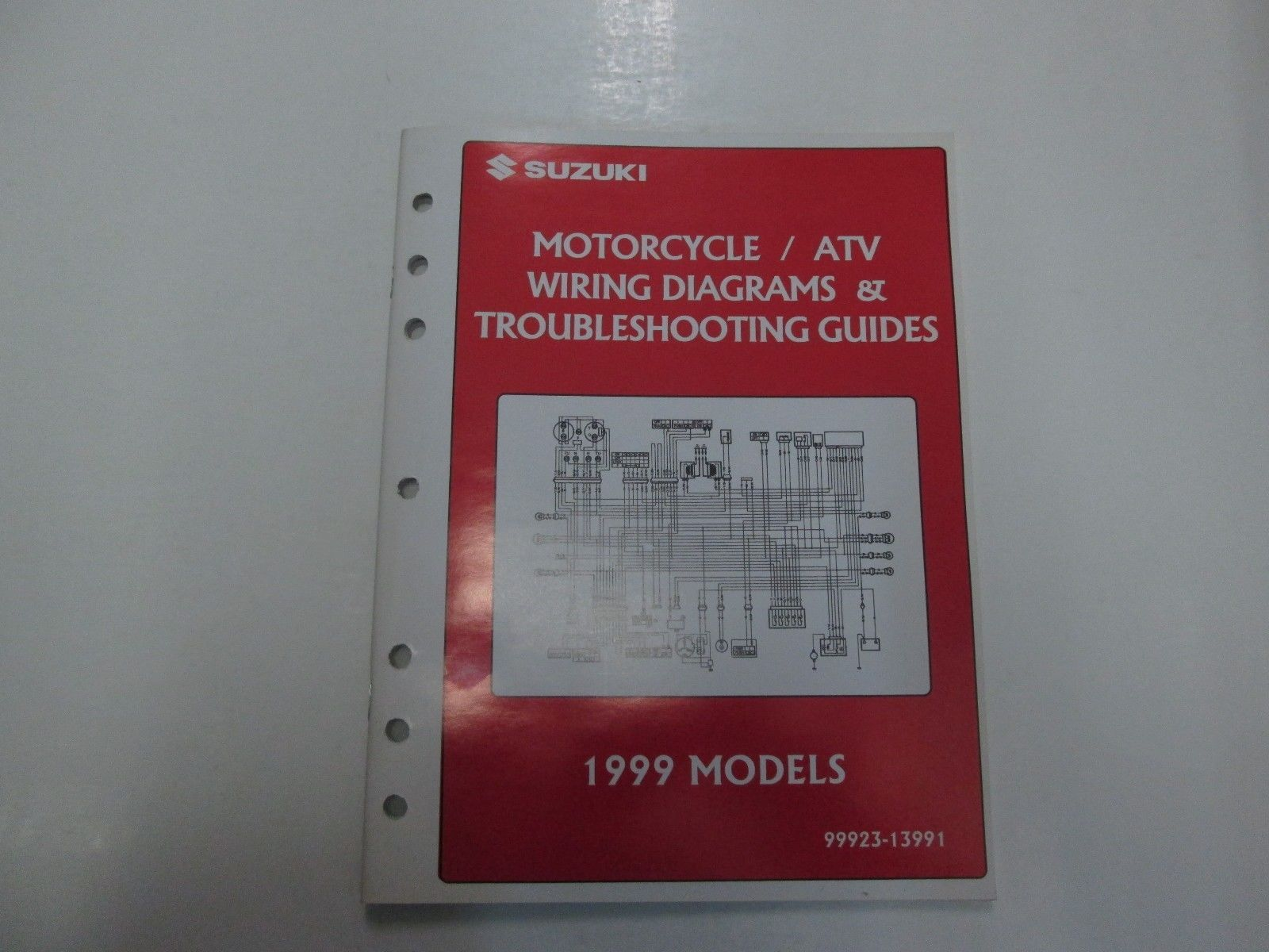 1999 Suzuki Motorcycle & ATV Wiring Diagrams and 50 similar items on