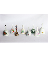 Vintage Ceramic Bells Collectible Lot of 8 Bell... - $39.99