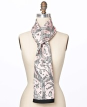 Ann Taylor Jewels Print Oblong Silk Scarf, NWT - $68.00