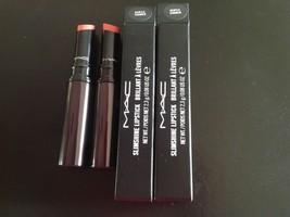 MAC Slimshine Lipstick  ~ Gentle Simmer X 2 ~ NIB - $18.51