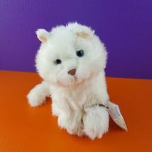 Ganz Webkinz Signature White Plush Cat Persian Stuffed Animal With Code ... - $35.64