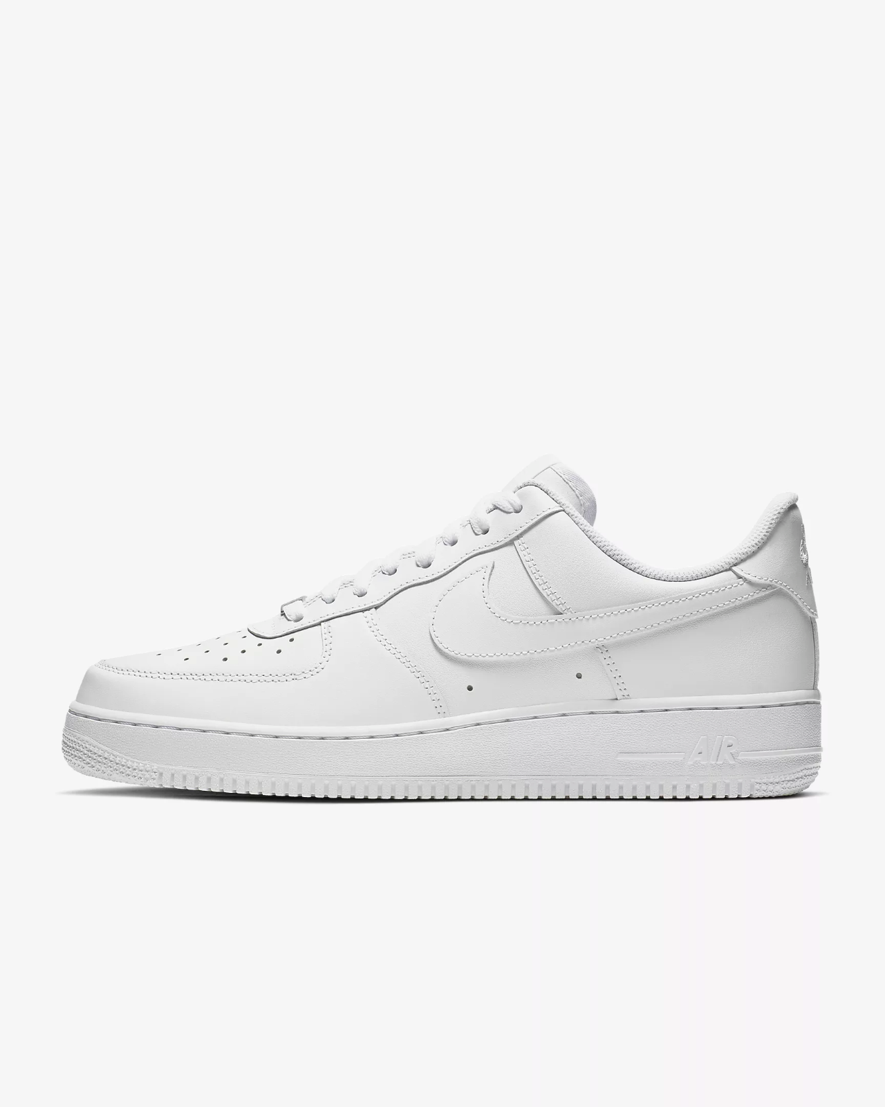 Nike Air Force 1 '07 Trainers White / Shoes / Leather Trainers