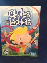NIB Hasbro Games Chutes And Ladder Kids Classic Board Game Fun  - $9.49